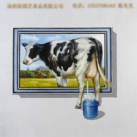 3D壁画/动物---3Ddw002
