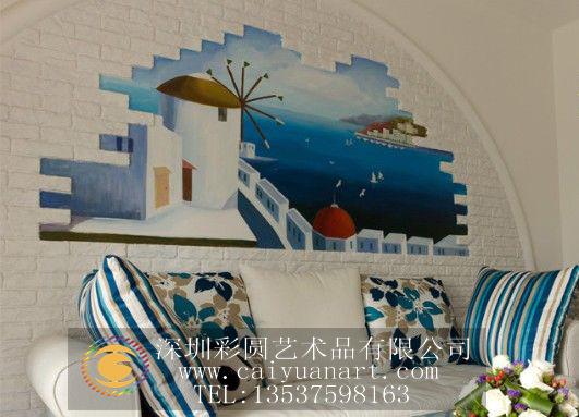 手绘墙,墙体彩绘,深圳墙体彩绘